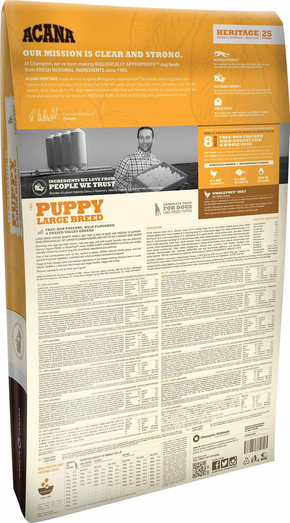 Puppy Large Breed • ACANA Pet Foods