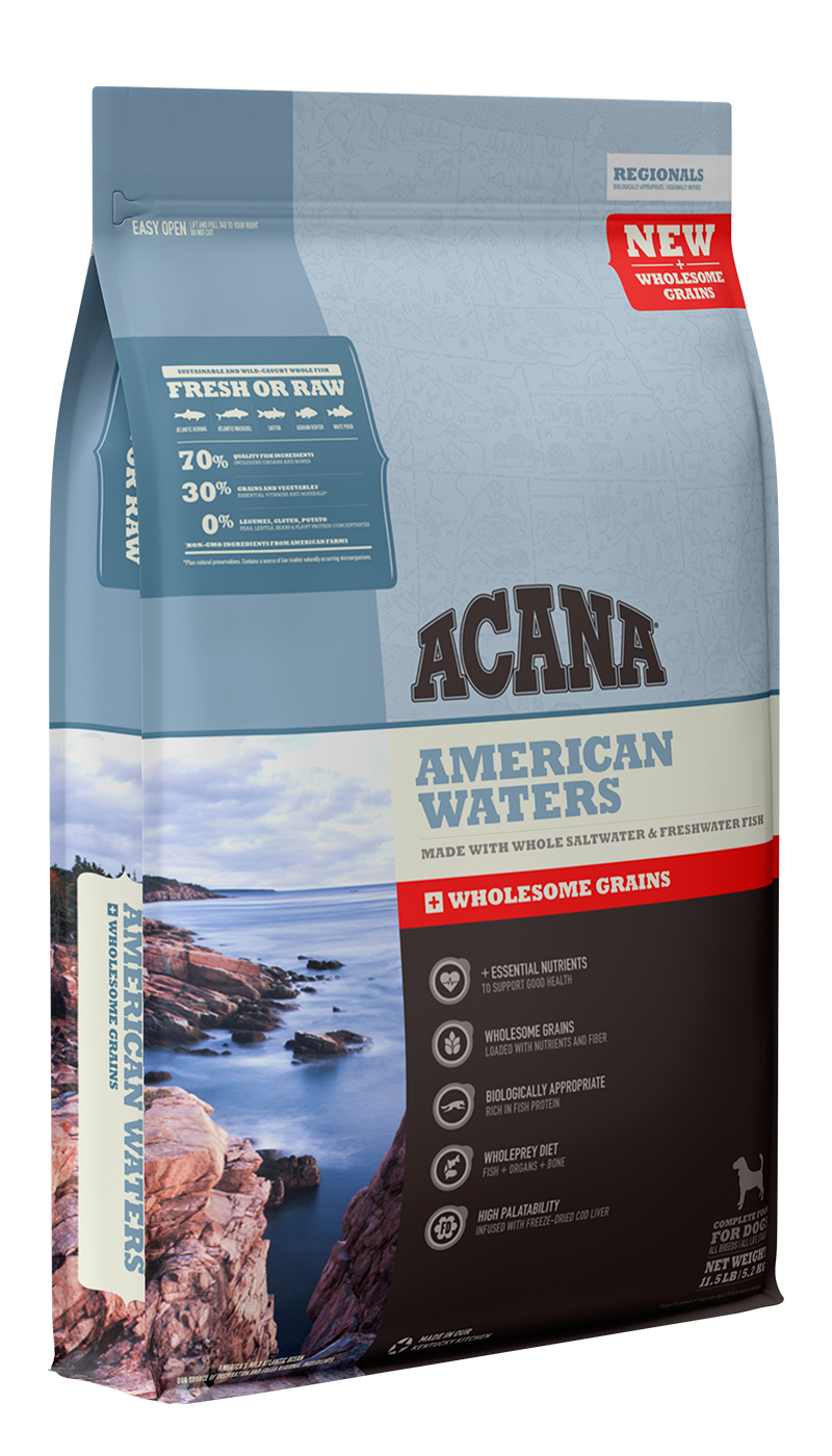 American Waters <br>+ Wholesome Grains