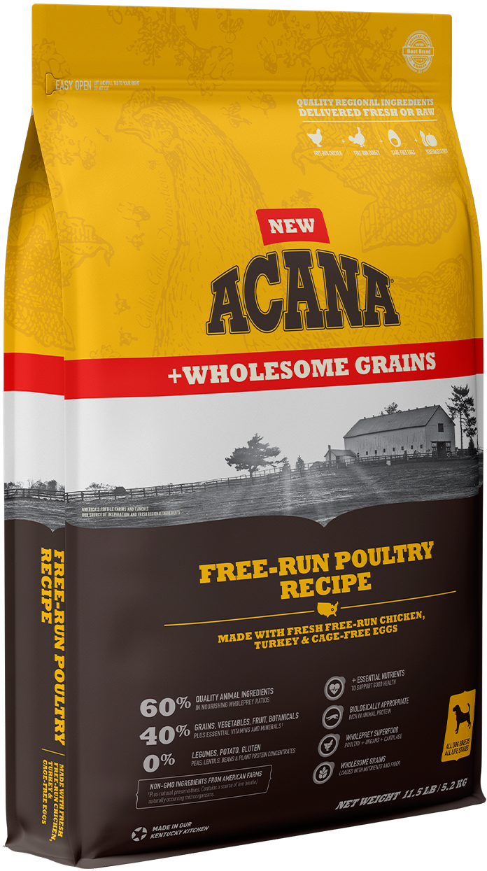 Free-Run Poultry <br>+ Wholesome Grains