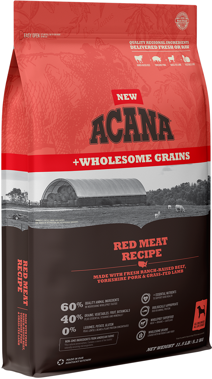 Red Meat <br>+ Wholesome Grains